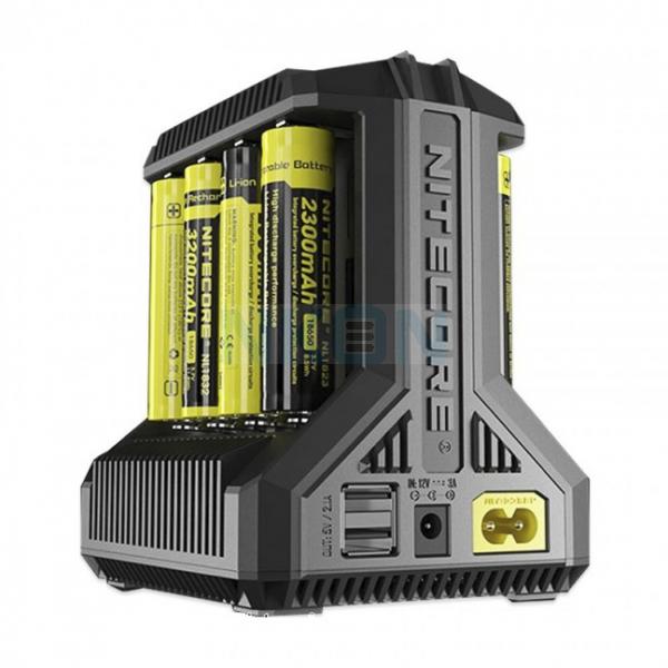 Chargeur de batterie Nitecore Intellicharger i8