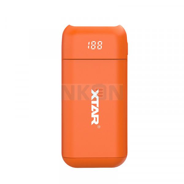 XTAR PB2 powerbank / chargeur de batterie - Orange