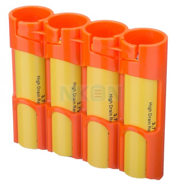 4x 18650 Powerpax Caisse de batterie