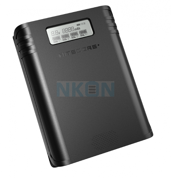 Nitecore F4 powerbank / chargeur de batterie