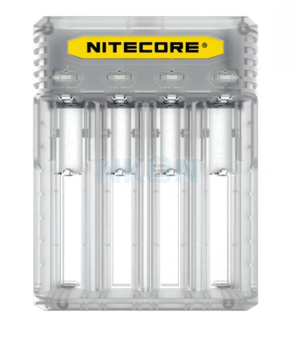 Nitecore Q4 Chargeur de batterie - Lemonade