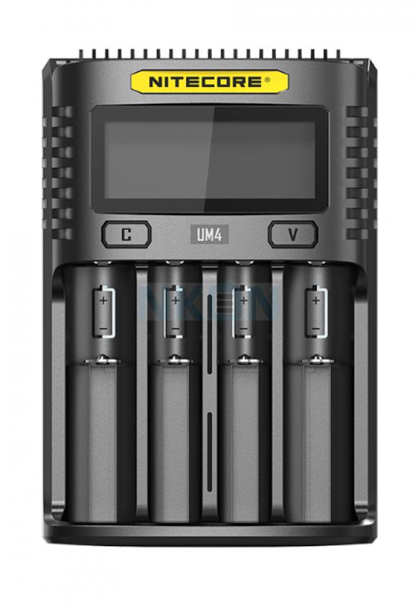 Nitecore UM4 chargeur de batterie USB