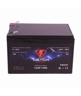 Voltium Energy 12.8V 12Ah - LiFePo4 (remplacement de la batterie au plomb)