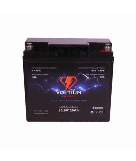 Voltium Energy 12.8V 20Ah - LiFePo4 (remplacement de la batterie au plomb)