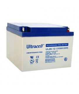 Ultracell 12V 26Ah Batterie au plomb