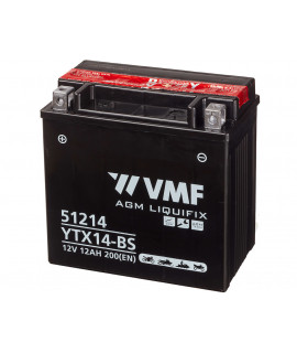 VMF Powersport MF 12V 12Ah Batterie au plomb