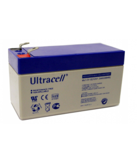 Ultracell 12V 1.3Ah Batterie au plomb