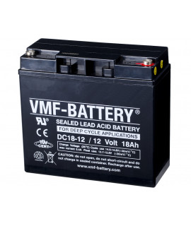 VMF Deep Cycle 12V 18Ah batterie au plomb