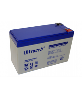 Ultracell 12V 7Ah Batterie au plomb
