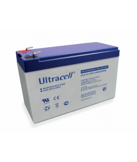 Ultracell 12V 9Ah Batterie au plomb