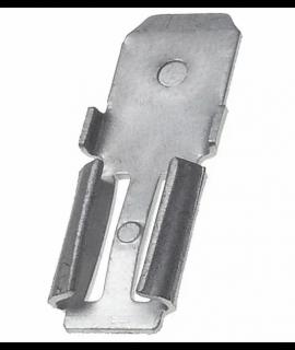2x Adaptateur de serrage pour batterie au plomb - 4,74 mm x 6,35 mm