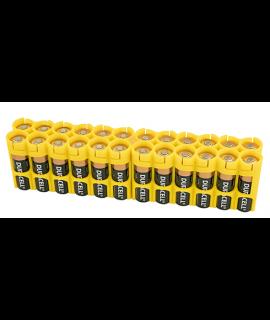 24 AA Powerpax Battery Case - Jaune
