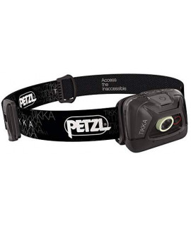 Petzl Tikka 300 Lumen (version 2019) - Noir