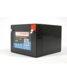 Enerpower 12.8V 4.5Ah - LiFePo4 (remplacement de la batterie au plomb)