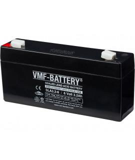 VMF 6V 3.2Ah Batterie au plomb