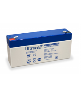 Ultracell 6V 3.4Ah Batterie au plomb