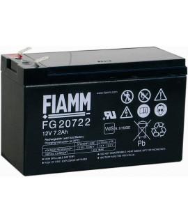 Fiamm FG 12V 7.2Ah (6.3mm) Batterie au plomb
