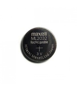 Maxell ML2032 rechargeable pile bouton