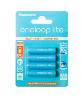 4 AAA Eneloop Lite - blister - 550mAh