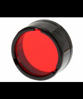 Filtre Nitecore - Diffuseur 25,4 mm - Rouge