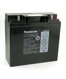 Panasonic 12V 17Ah Batterie plomb