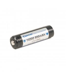 Keeppower 14500 800mAh (protégé) - 1.6A