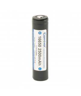Keeppower 16650 2500mAh (protégé) - 4A