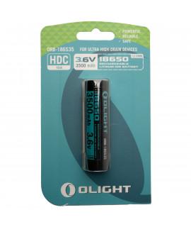 Olight 18650 3500mAh batterie pour M2R / X7