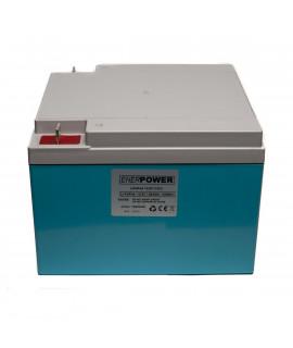 Enerpower 12V 25.6Ah - LiFePo4 (remplacement de la batterie au plomb)