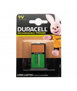9V Duracell Recharge Ultra - blister