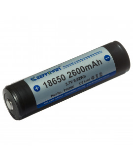 Keeppower 18650 2600mAh (protégé) - 8A