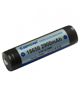 Keeppower 18650 2900mAh (protégé) - 10A