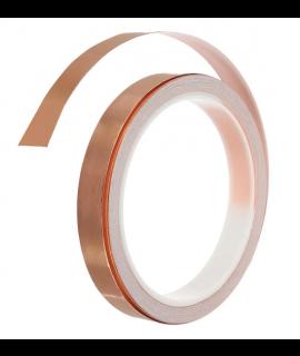 1 rouleau de ruban de cuivre conducteur unique 10 mm