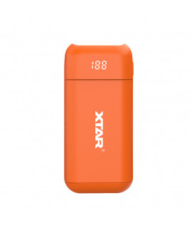 XTAR PB2 powerbank / chargeur de batterie - Orange