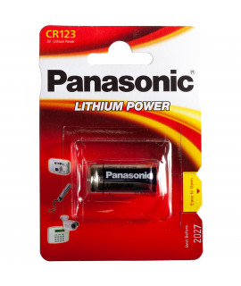 CR123A Panasonic Photo Power - blister - 3V