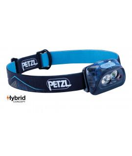 Petzl Actik Lampe frontale bleue - 350 Lumen