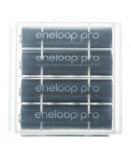 4 AA Eneloop Pro - boîte - 2500mAh