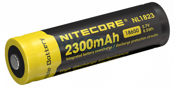Nitecore 18650 NL1823 2300mAh (protected) - 2A