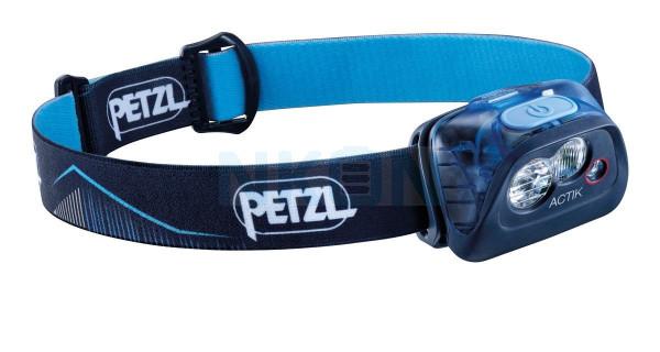 Petzl Actik Lámpara de cabeza azul - 350 lúmenes