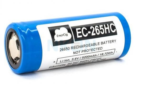 Enercig 26650 5200mAh - 18A
