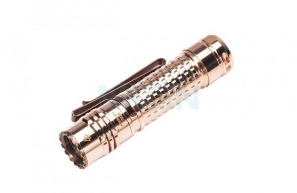Acebeam TK18 Nichia 219 CRI 90+ Copper linterna