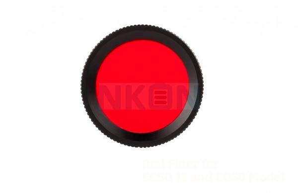 Filtro rojo Acebeam FR30 para L16 y EC50 Gen III