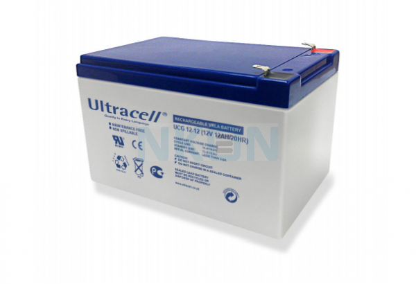 Ultracell Deep Cycle Gel 12V 12Ah Batería de plomo