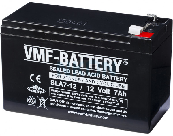 VMF 12V 7Ah batería de plomo