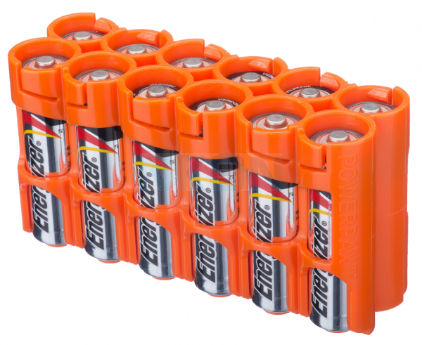 12 AA Powerpax Caja de bateria