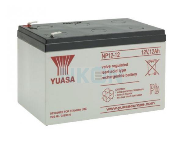 Yuasa 12V 12Ah batería de plomo