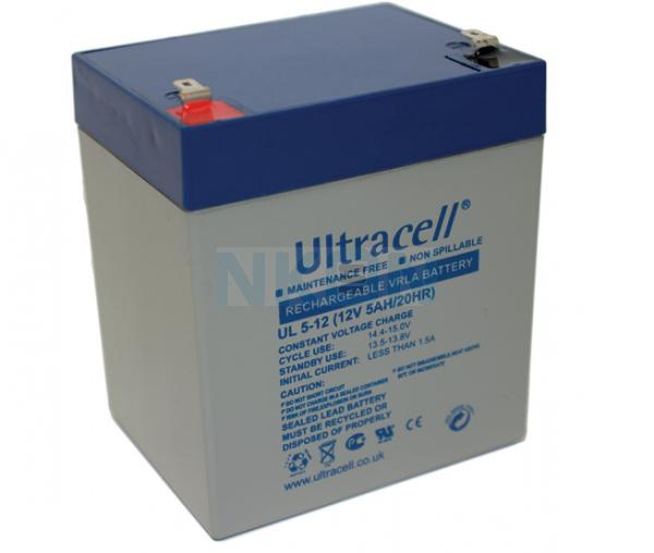 Ultracell 12V 5Ah  Batería de plomo