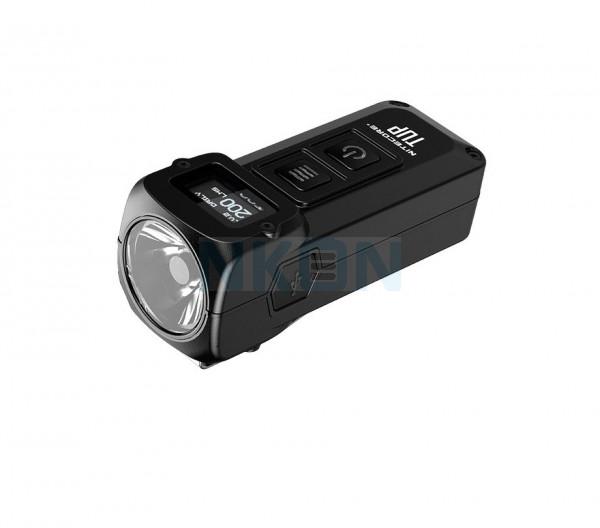 Nitecore TUP - Lámpara de llavero de 1000 lúmenes recargable EDC - Negro