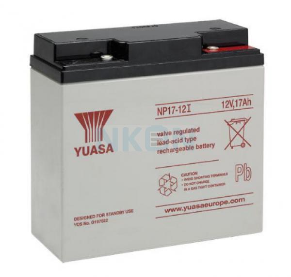 Yuasa 12V 17Ah batería de plomo