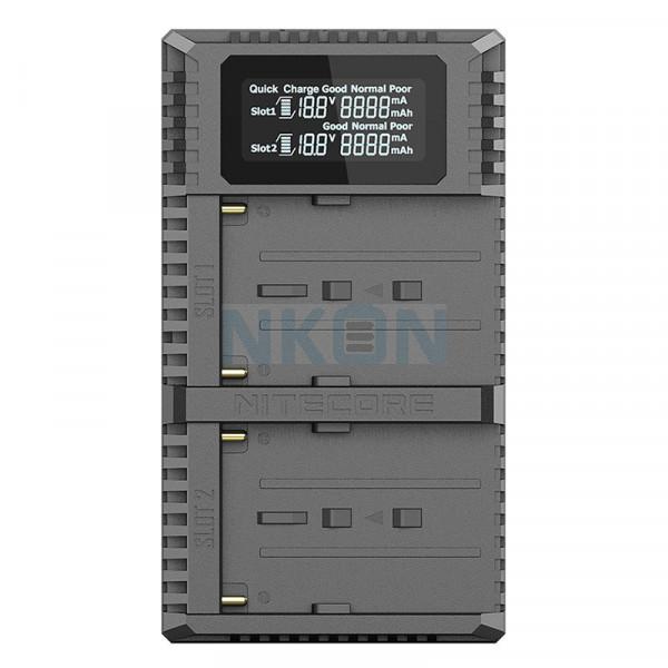 Nitecore USN3 Pro - Sony (NP-FM500H NP-F730 NP-F750 NP-F770 NP-F970 NP-F550)